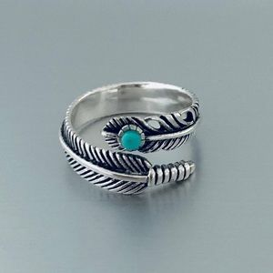 Jewelry - 💙💙NEW💙💙 Sterling Silver Feather Ring